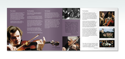 Norbert Brainin Foundation Brochure Spread