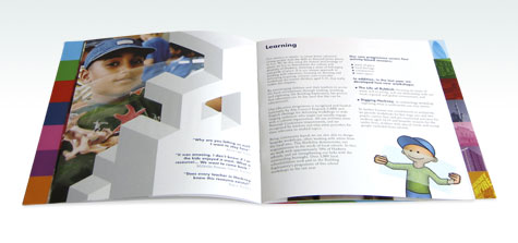 The Building Exploratory Brochure / Annual Report