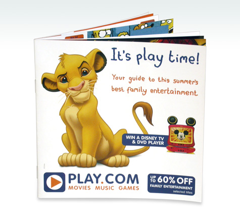 Play.com Catalogue Front Cover