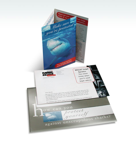 Which? Legal Service Direct Mail Pack