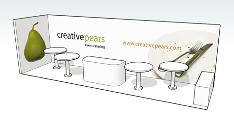 Creative Pears Exhibition Stand