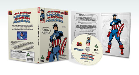 Captain America DVD Packaging