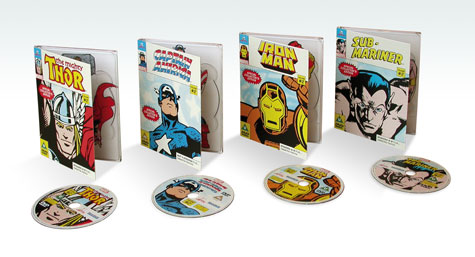 Marvel Volume 2 DVD Packaging