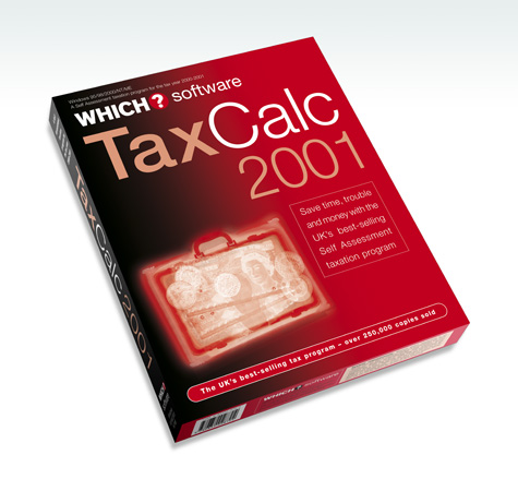 TaxCalc 2001 Packaging
